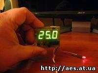 ترموستات -55 ° C. .. +125 ° C (± 0،5 ° C)