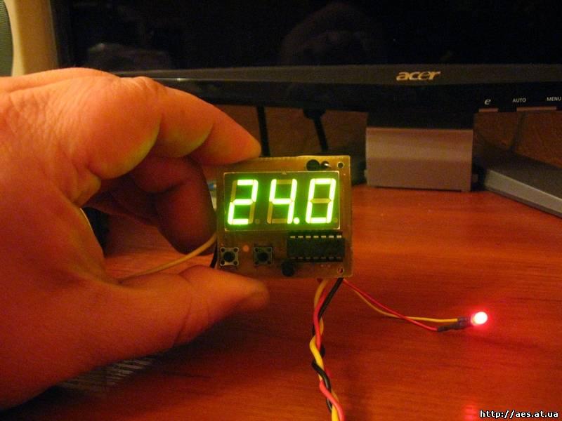 Как сделать электронный термометр своими руками с цифровым табло