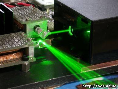 Лазерная установка своими руками