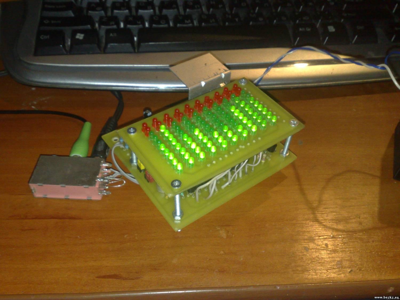 Спектроанализатор своими руками
