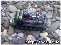 танк с управлением по bluetoth