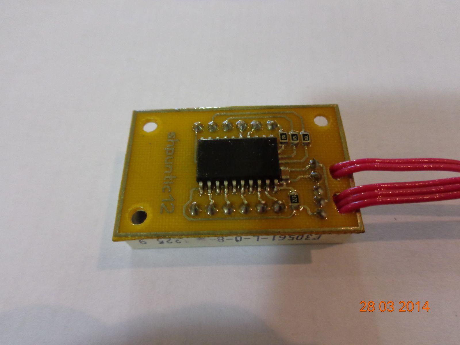Двухканальный термометр