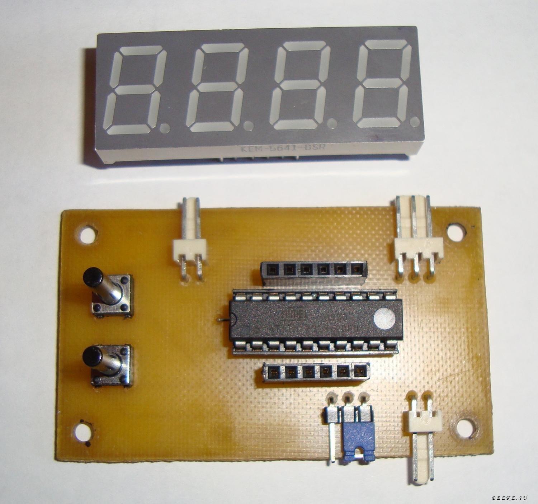 схема термостат на ds18b20
