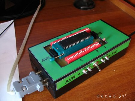 Универсальная ZIF панелька для PIC и AVR