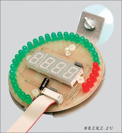 Электронный светодиодный тахометр