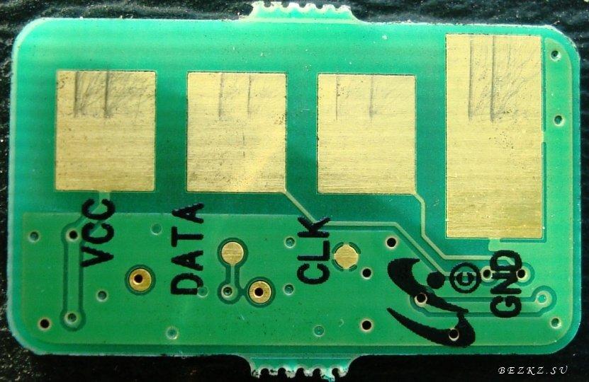 Программируем чип картридж