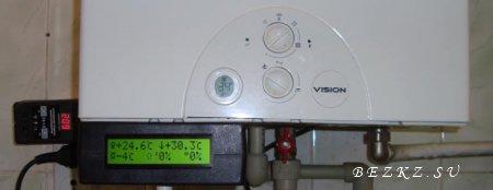 Термостат  для газового котла,  плюс погодное регулирование