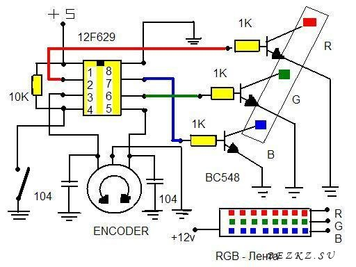 RGB энкодер