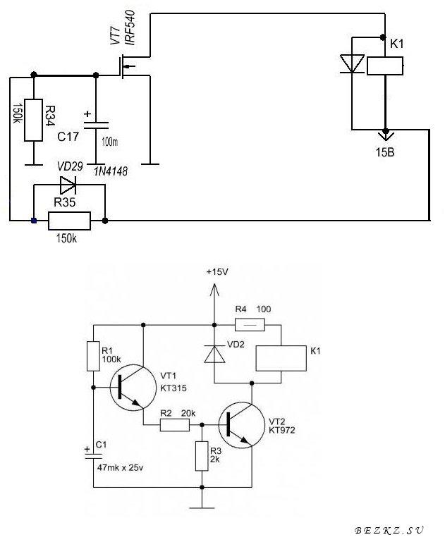Контроллер шагового двигателя