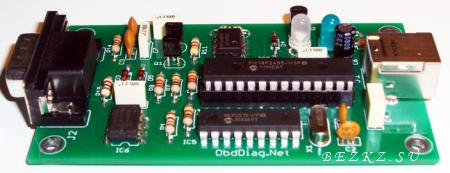OBD AllPro адаптер является модификацией моего USB OBD2 адаптера с поддержкой всех существующих протоколов...