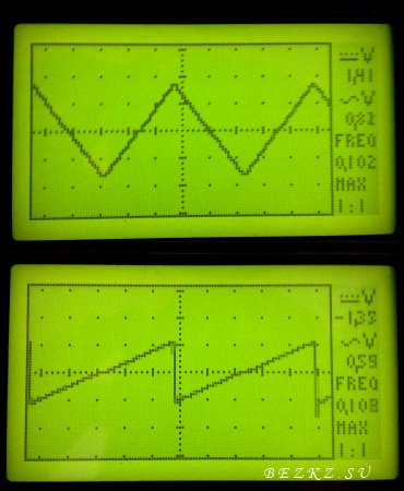 Осциллограф на микроконтроллере ATMEGA32А