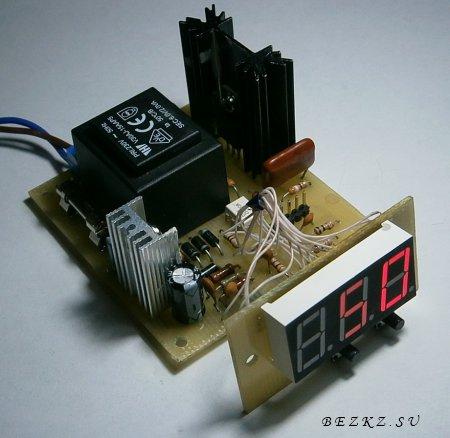 Регулятор мощности на микроконтроллере.