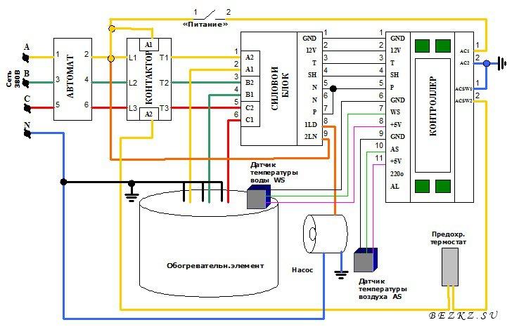 Контроллер электродного