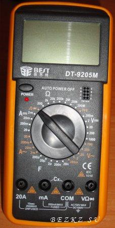 Мультиметр DT-9205M