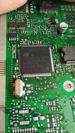 ЭБУ ВАЗ М73 с микроконтроллером ST10F273 ремонт, переделка в инженерный блок